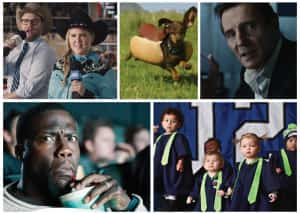 Collage of Super Bowl Commercials